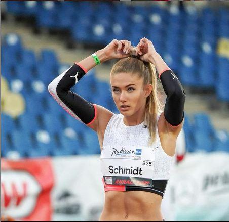 Alyssa Schmidt is the most beautiful athlete