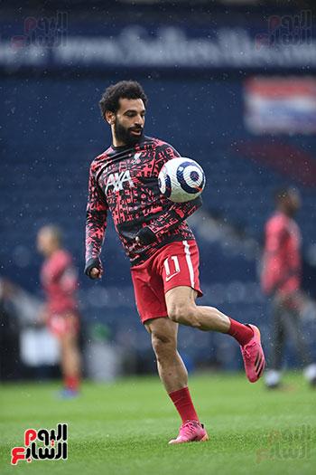 محمد صلاح احتفالية 100 هدف مع ليفر بول (27)