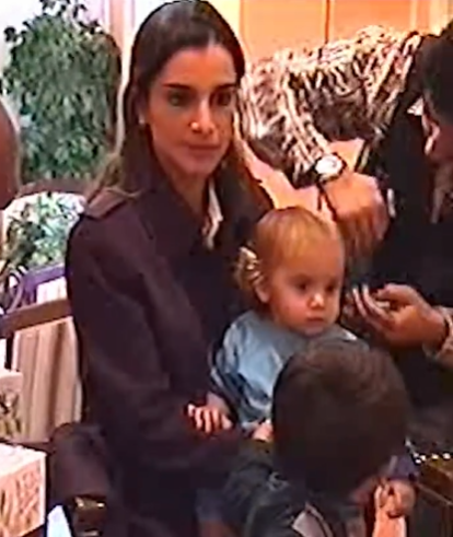 Queen Rania and her daughter