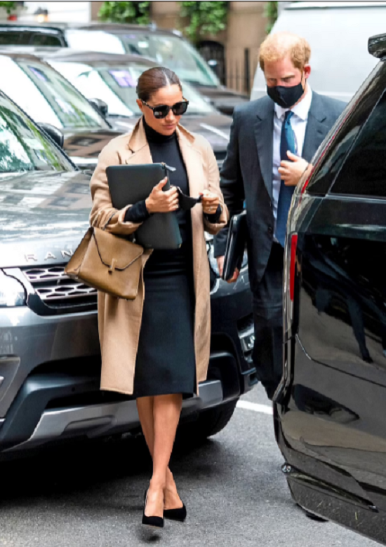 Meghan Markle dazzles in New York in luxurious outfits (1)