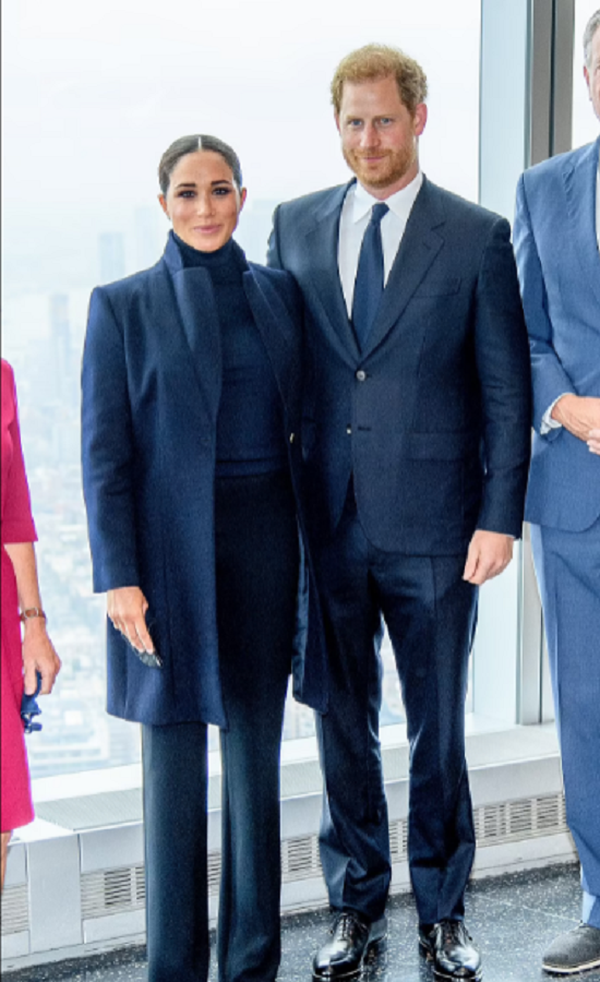 Meghan Markle dazzles in New York in luxurious outfits (2)
