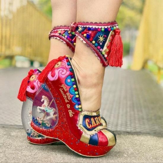 Another strange shoe