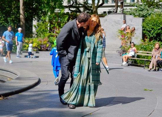 Jennifer Lopez and Ben Affleck in New York (5)