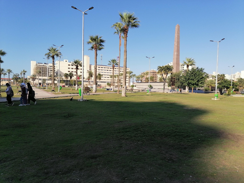 ميدان الشهداء بمحافظة بورسعيد