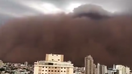 العاصفة