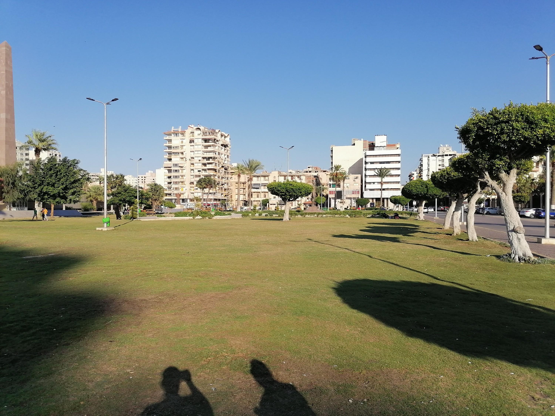 جانب من ميدان الشهداء