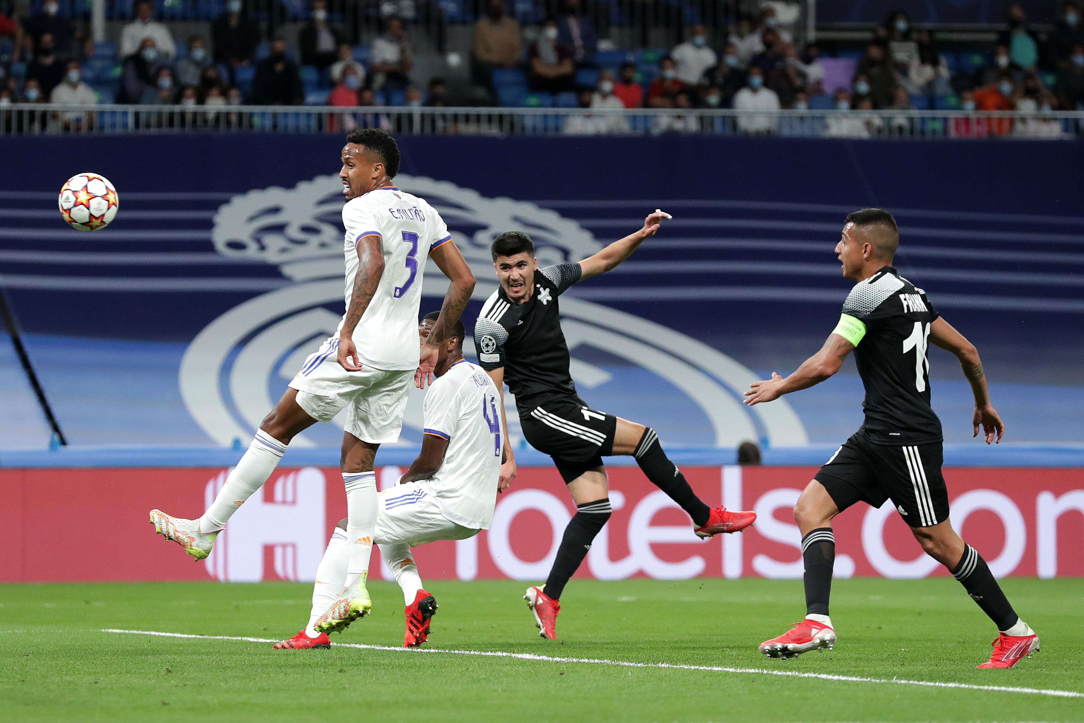 هدف شيريف الأول ضد ريال مدريد