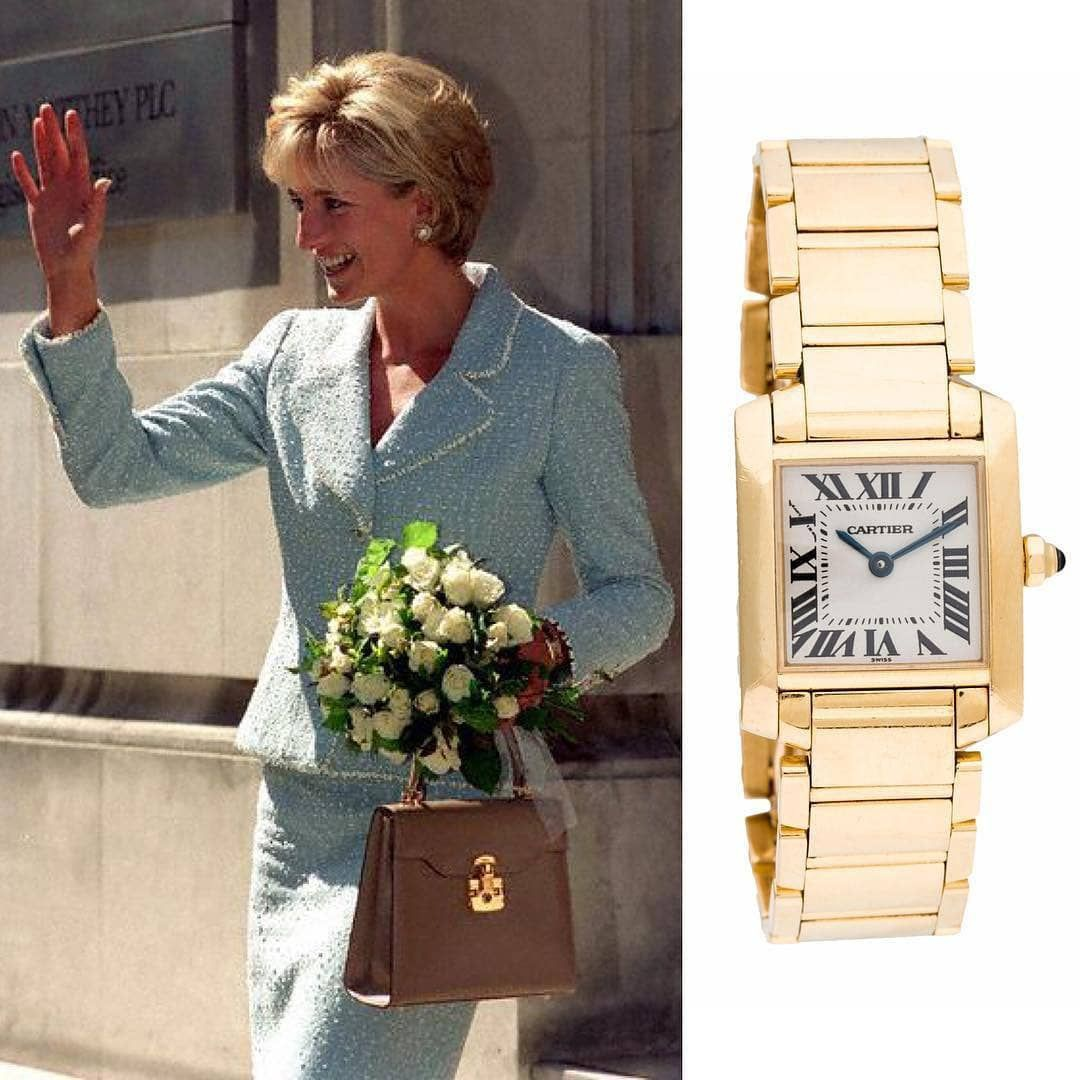 Diana's famous watch
