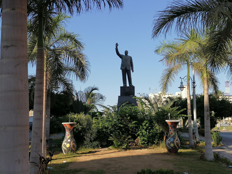 تمثال الرئيس جمال عبدالناصر