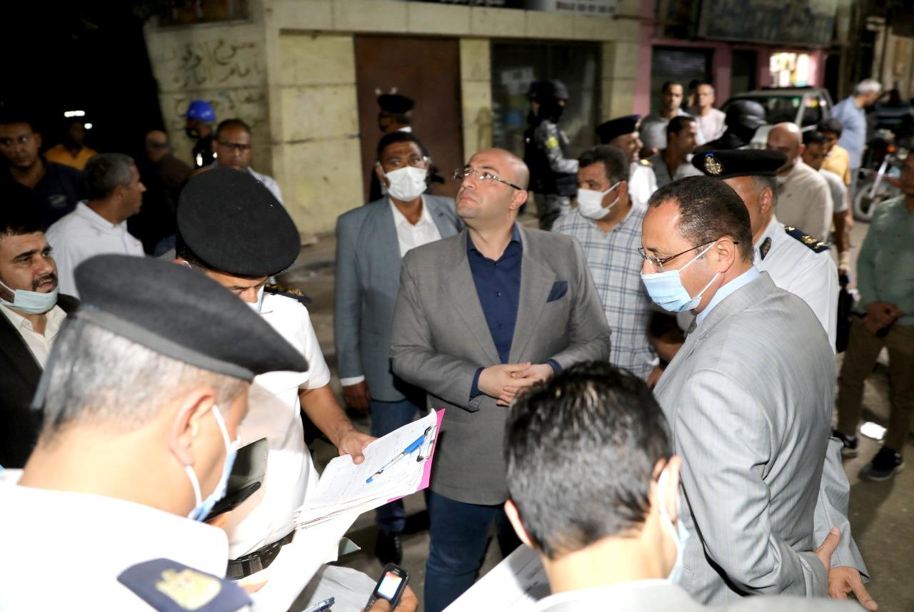 المحافظ الدكتور محمد هاني غنيم محافظ (1)