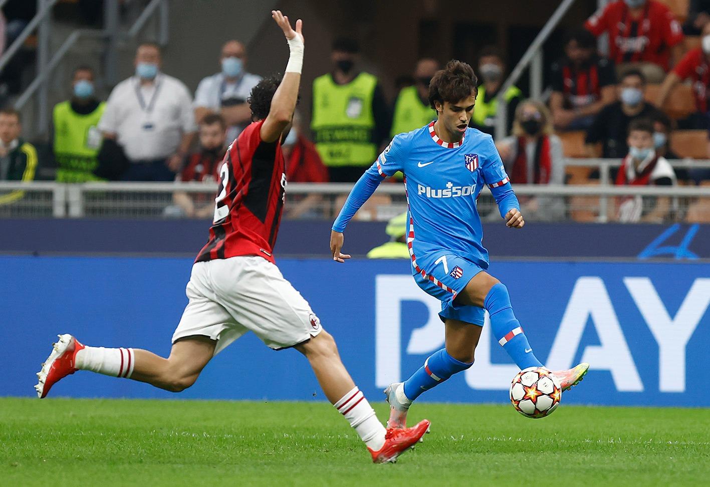 Atletico Madrid beat AC Milan