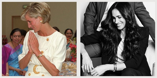 Diana watch from Cartier