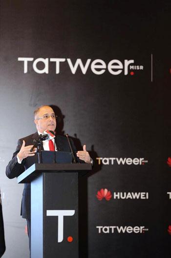 تسريع التنمية-مصر-توقع اتفاقية تعاون مع هواوي تكنولوجيز (3)
