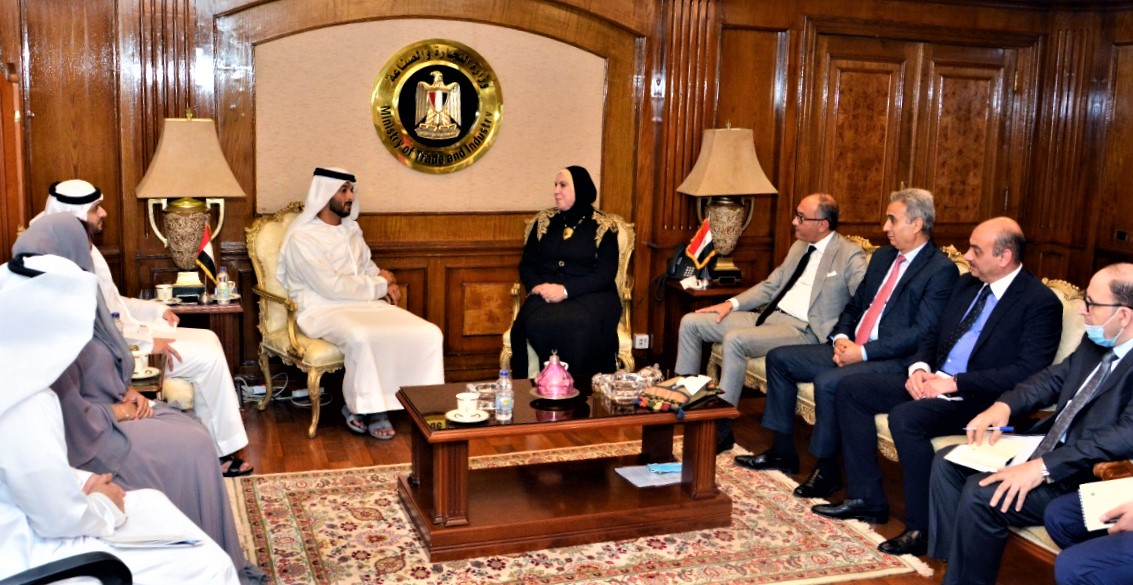 اجتماع مسؤولي مصر والإمارات