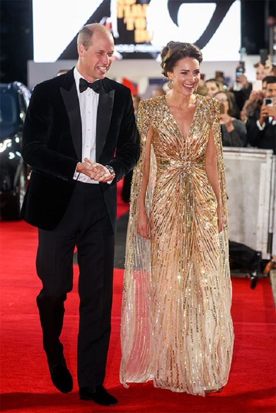 Kate Middleton and Prince William)