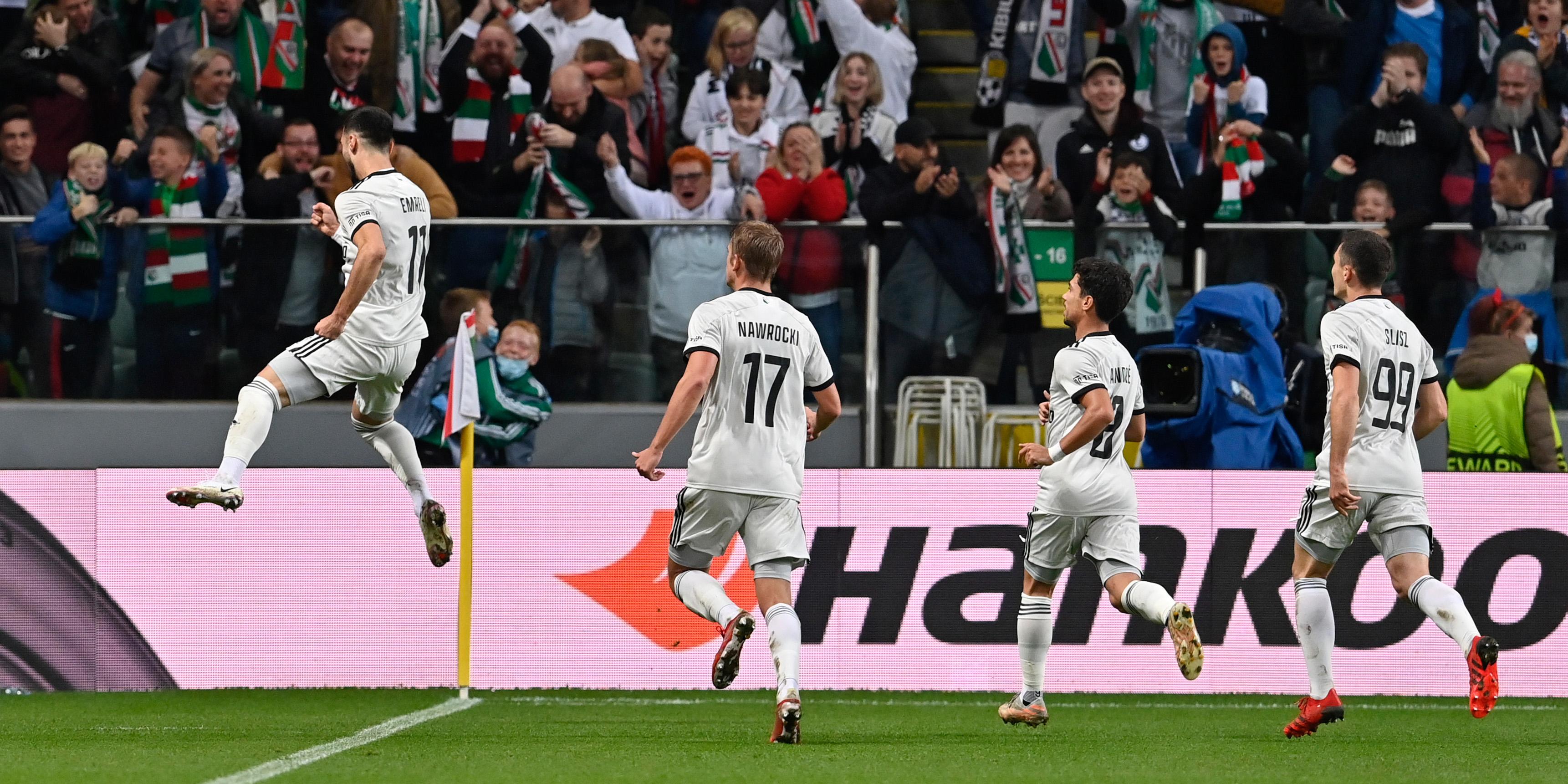 Legia Warsaw vs Leicester City (2)