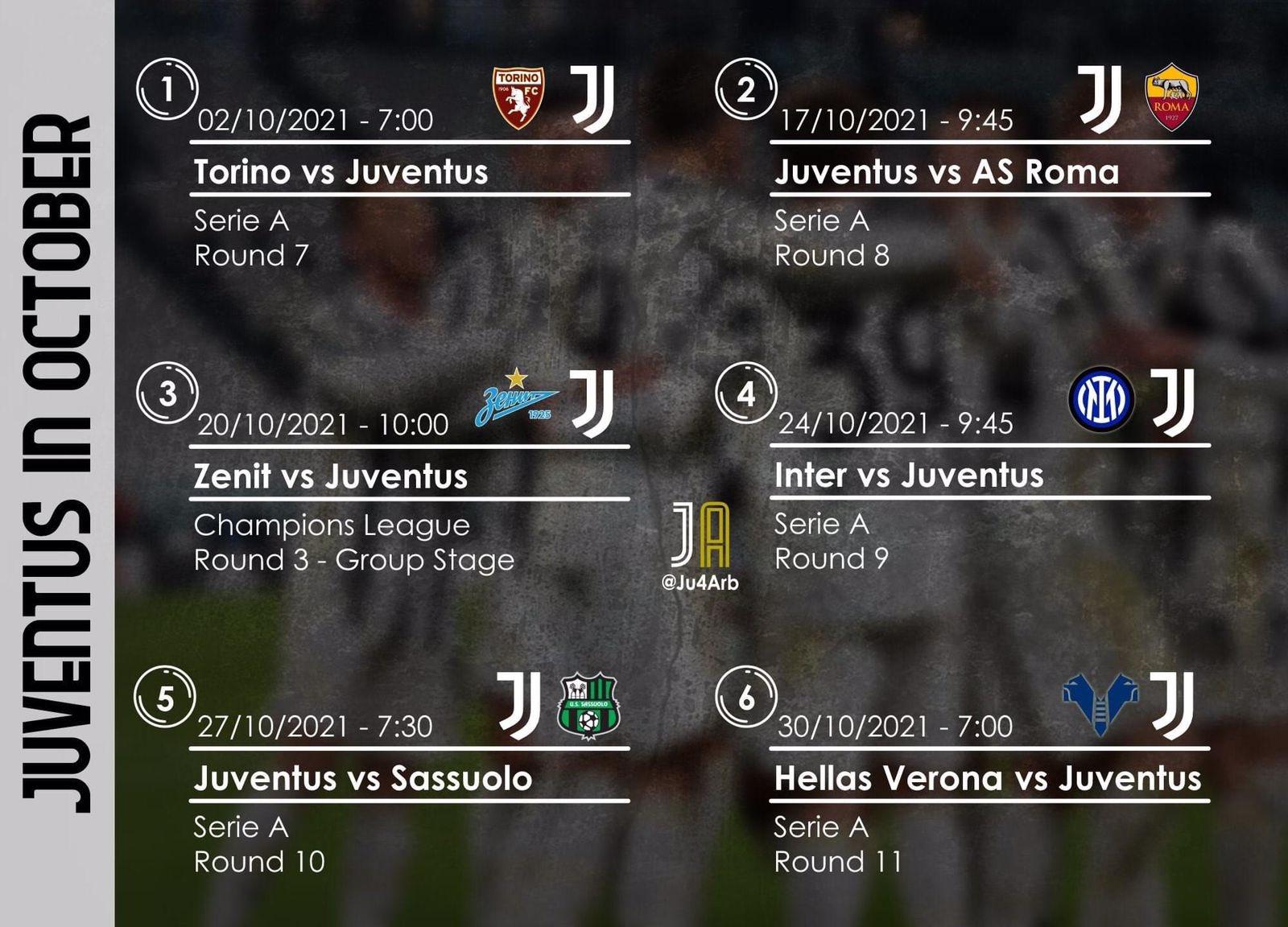 Juventus matches