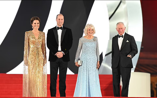 Charles, William, Camilla and Kate Middleton