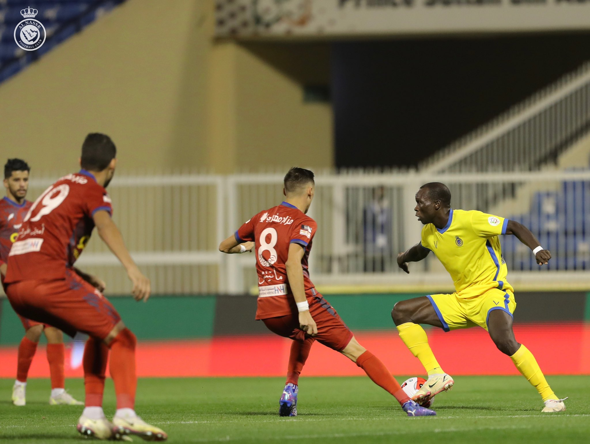 A dangerous attack for victory against Abha