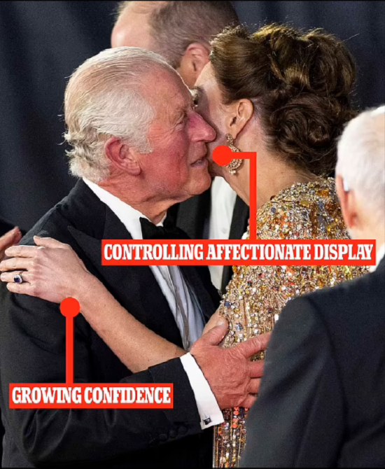 Body language expert explains the nature of the relationship between Kate Middleton and Prince Charles (2)