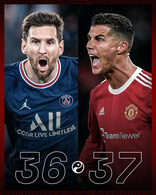 Ronaldo breaks a joint record with Lionel Messi in the Champions League