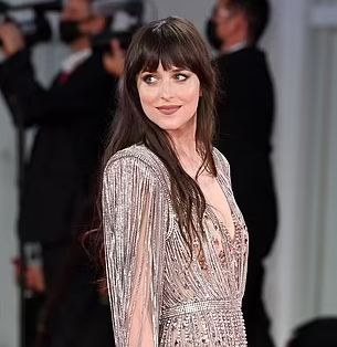 Dakota Johnson at the Venice Film Festival