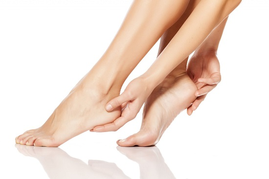 Natural ways to treat goose skin on the legs
