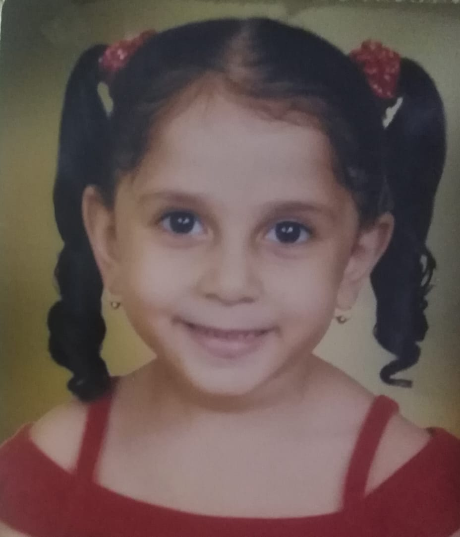 Marina in her childhood