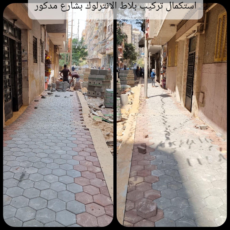 تطوير شوارع العمرانية  (1)
