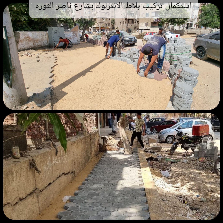 تطوير شوارع العمرانية  (7)