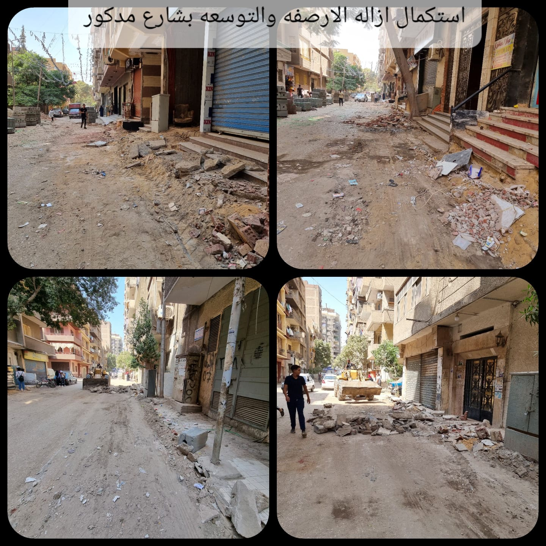 تطوير شوارع العمرانية  (2)
