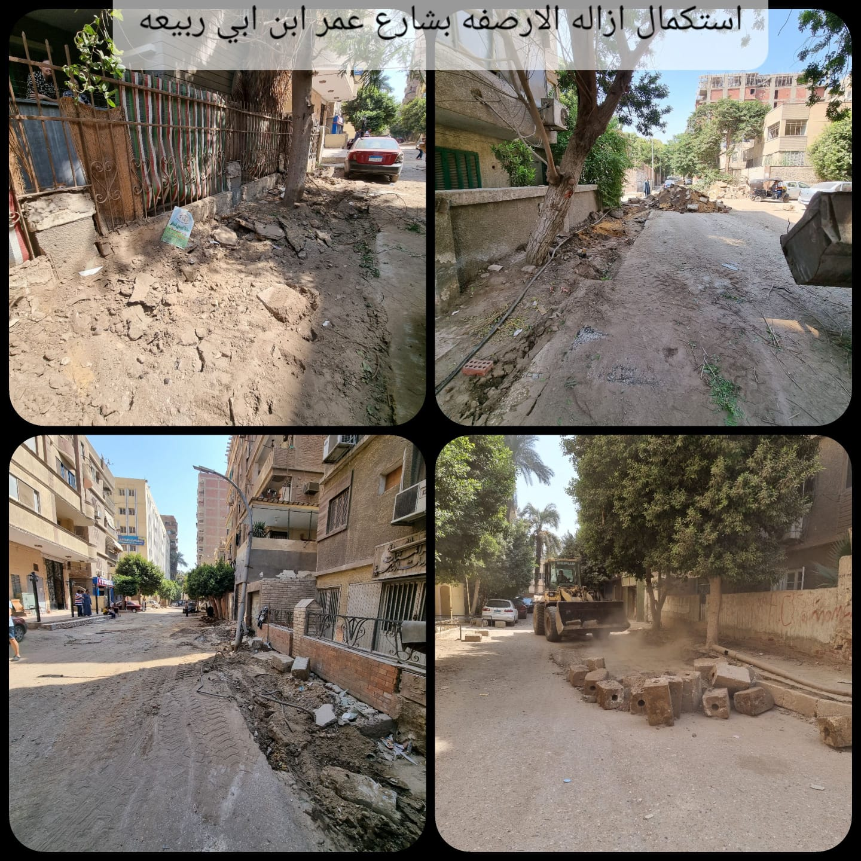 تطوير شوارع العمرانية  (3)