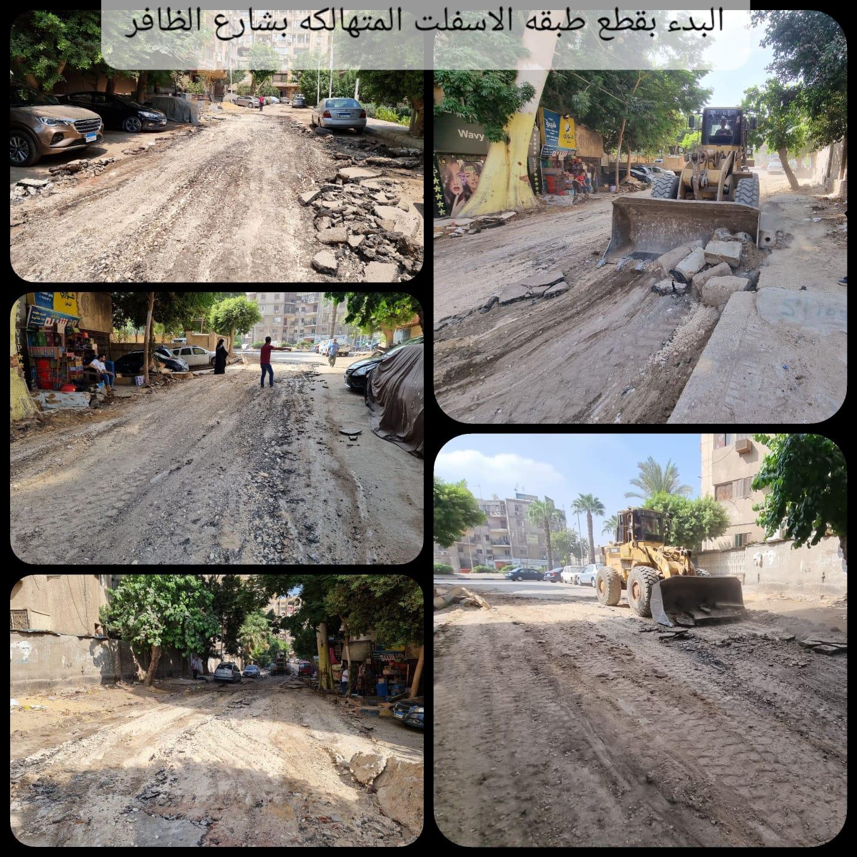 تطوير شوارع العمرانية  (6)