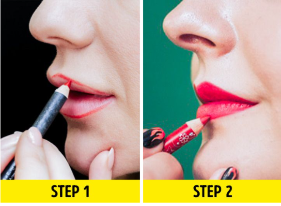 Define your lips first