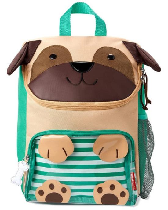 Skip Hop Zoo Pug Big Kid Backpack