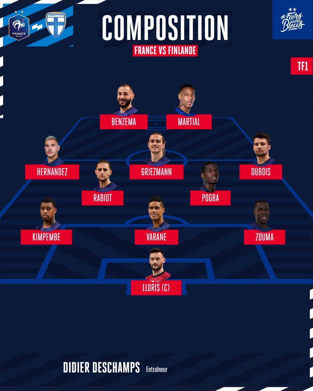 France formation