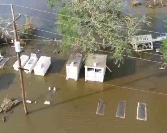 صور جوية لغرق ولاية لويزيانا