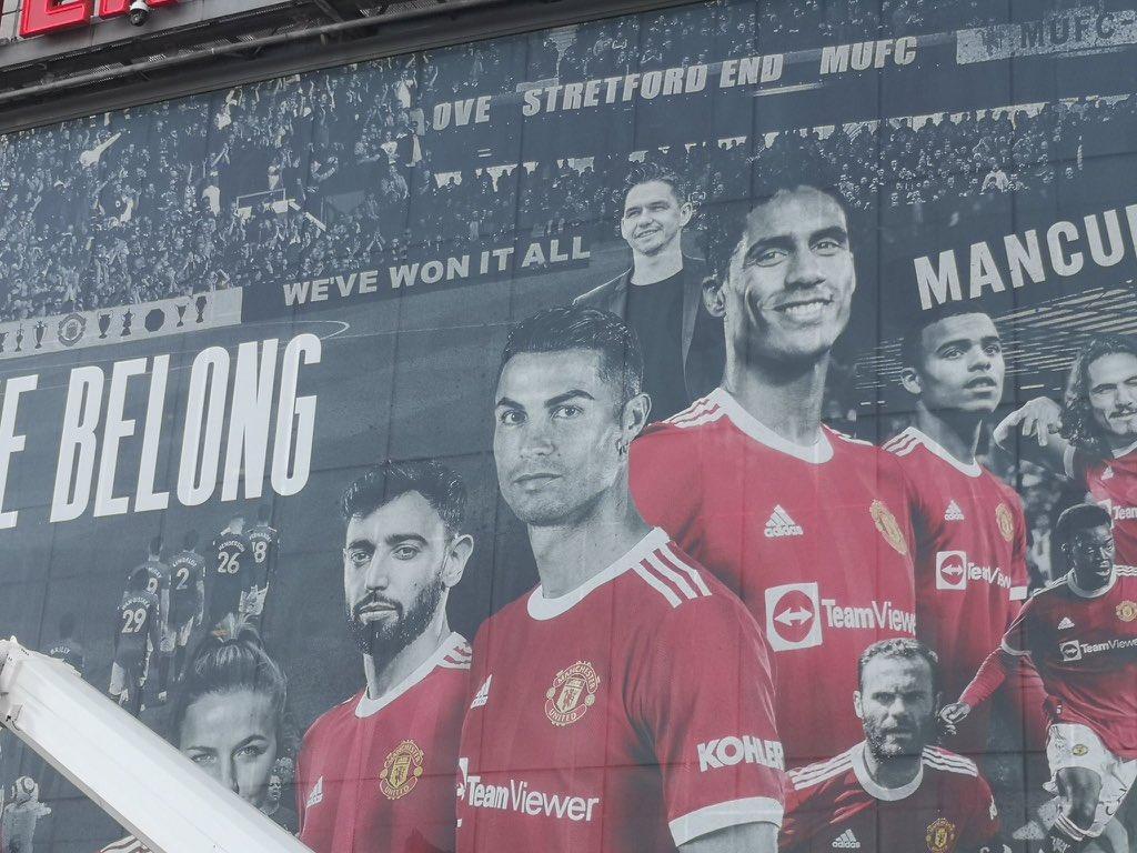 Old Trafford Facade (1)
