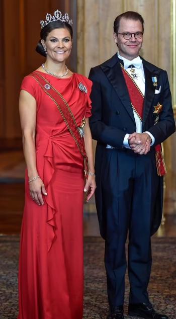 Princess Victoria and her husband, Prince Daniel