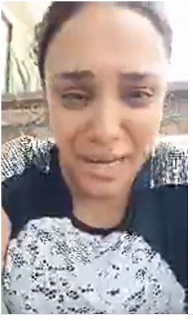 Yvonne Nabil collapses after her husband imprisoned her