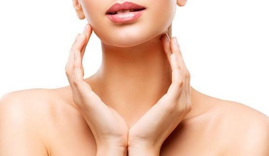 Getting rid of neck wrinkles