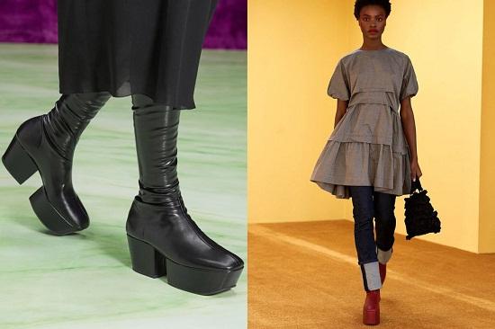 أحذية جلدية