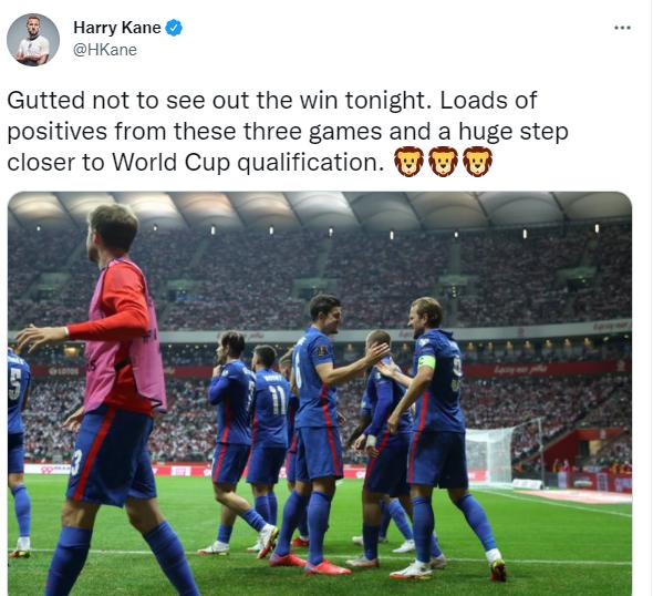 Harry Kane on Twitter