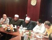 محمد مختار جمعة خلال المؤتمر