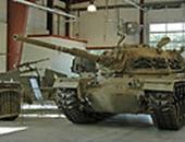 الدبابة الإسرائيلية بالمتحف الأمريكى