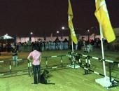 قوات الأمن تباشر عملها لتأمين الحفل