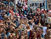 مظاهرات لطلاب الإخوان بجامعة القاهرة - صورة أرشيفية