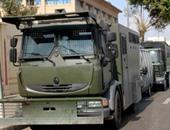 سيارات أمن مركزى بمحيط جامعة عين شمس