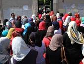 مظاهرة لطالبات الإخوان بالأزهر - صورة أرشيفية