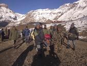 عمليات الإنقاذ فى نيبال
